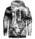 hoodie with tie dye motive
