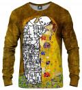Lost Kiss Sweatshirt, by Gustav Klimt
