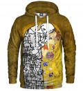 Lost Kiss Hoodie, by Gustav Klimt