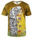 Lost Kiss T-shirt, by Gustav Klimt
