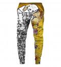Lost Kiss Sweatpants, by Gustav Klimt