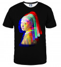 Pearl in 3D T-shirt, by Jan Vermeer