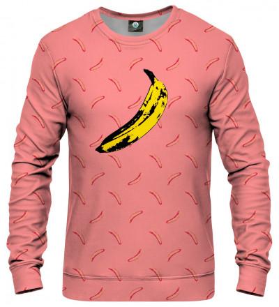 sweatshirt with banana motive