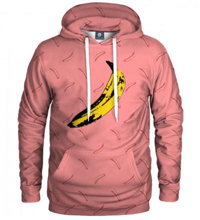 hoodie with banana motive