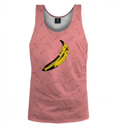 tank top with banana motive