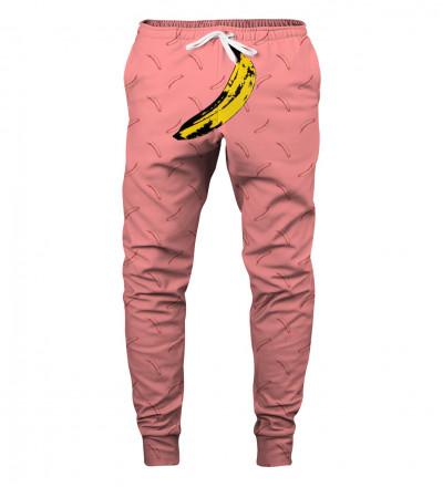 sweatpants with banana motive