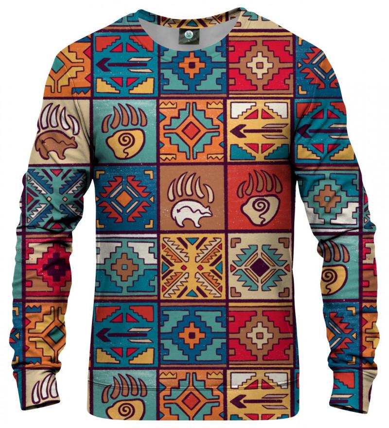 sweatshirt with art motive