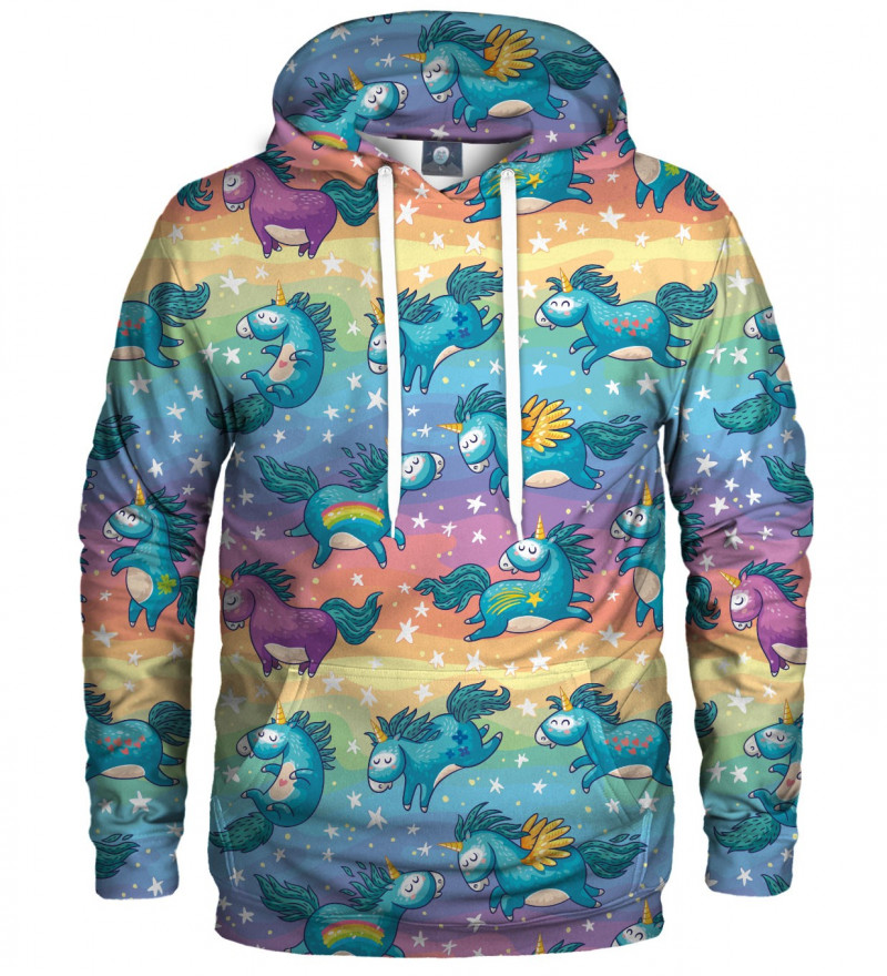 hoodie with uicorns motive