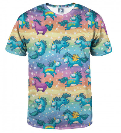 tshirt with unicorns motive