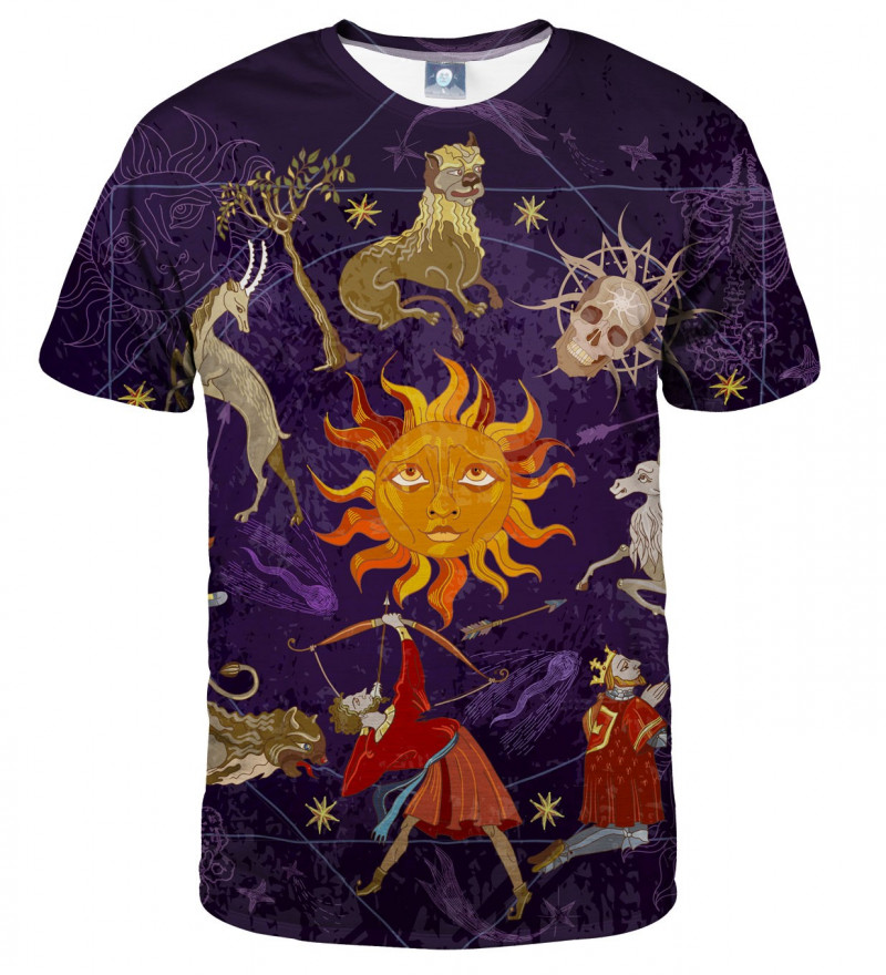 tshirt with astrological motive