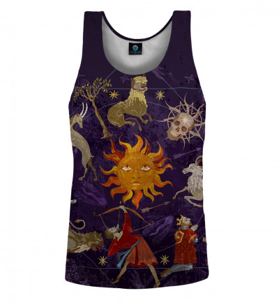 tank top with astrological motive
