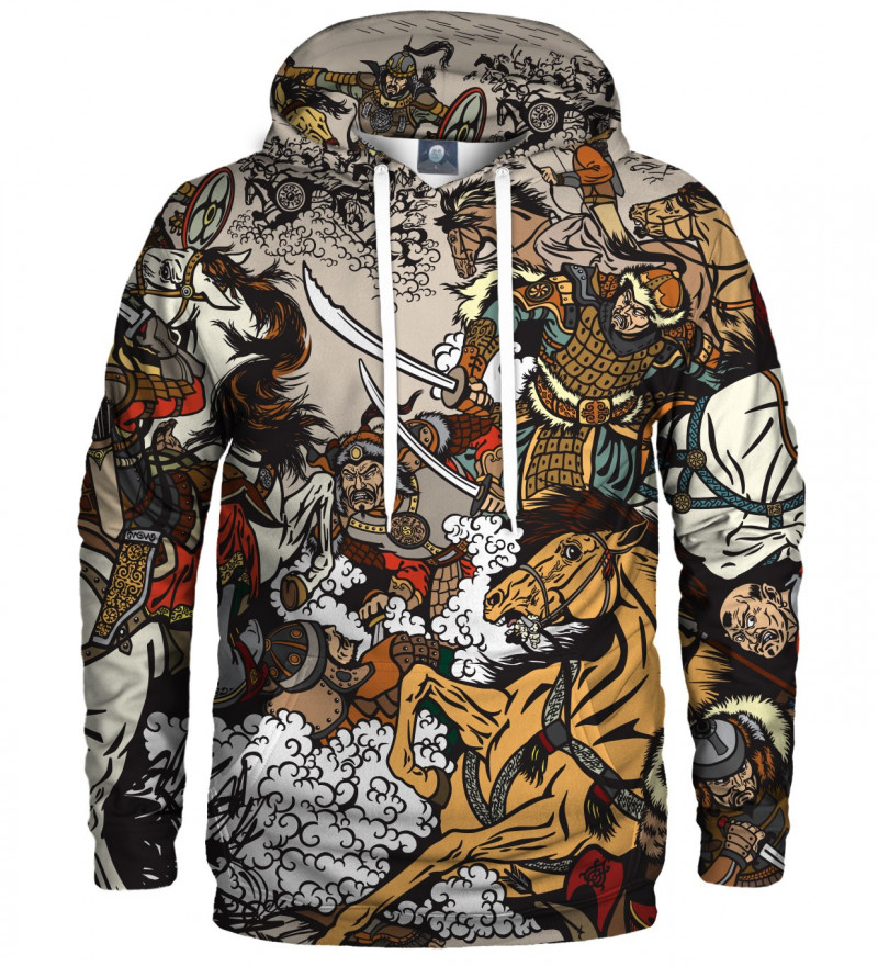 hoodie with battle motive