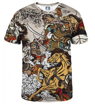 koszulka z motywem bitwy
