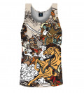Battle of Heroes Tank Top