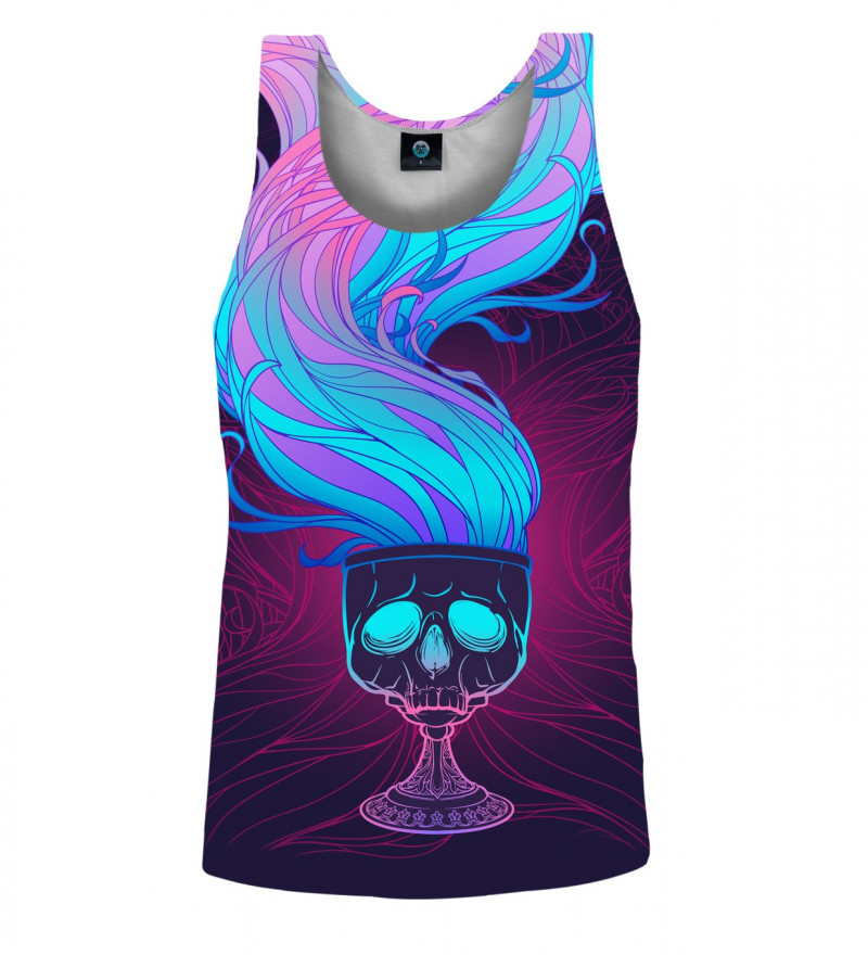 tank top with chalice of magic motive