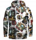 hoodie with ufo motive