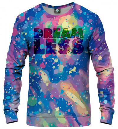 kolorowa bluza z napisem dreamless