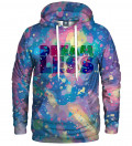 hoodie with colorful motive
