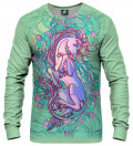 sweatshirt with pegasus motive