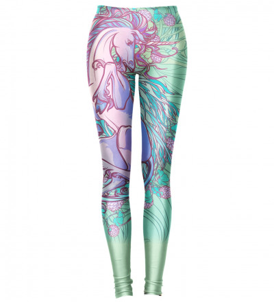 leggings with pegasus motive