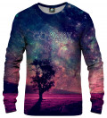 sweatshirt with tree motive