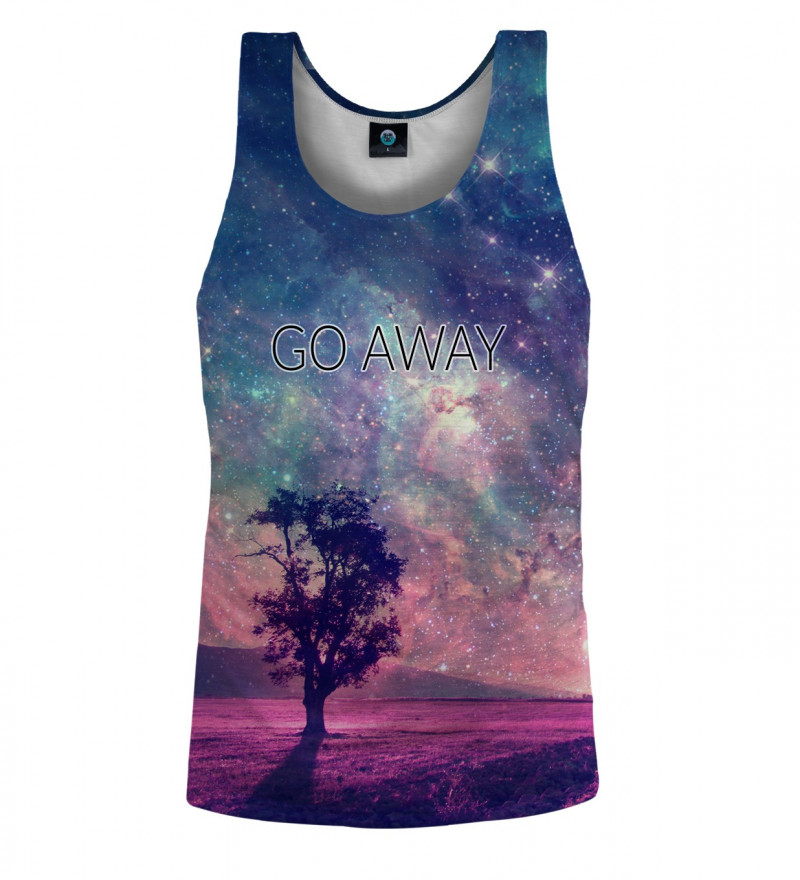 tank top with tree motive