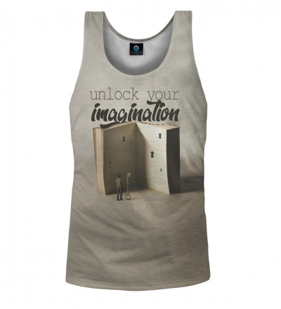 tank top with art motive