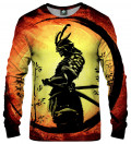 bluza z motywem samuraja