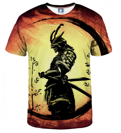 tshirt with samurai motive
