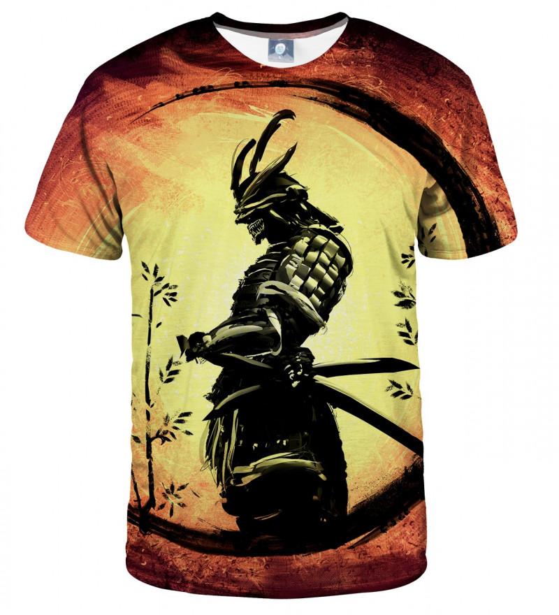 tshirt with samurai motive