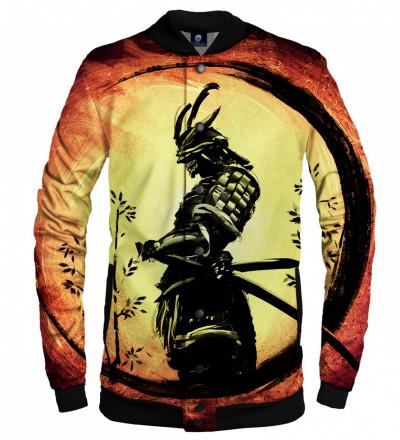 bejsbolówka z motywem samuraja