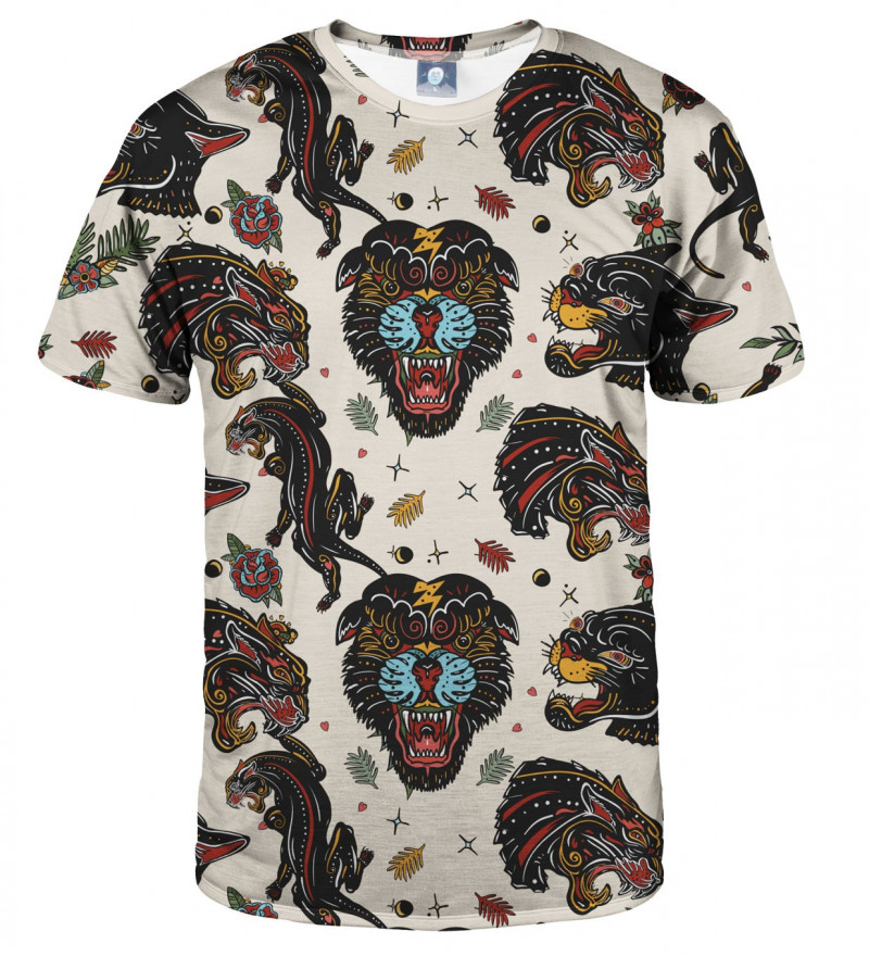 koszulka z motywem pantery