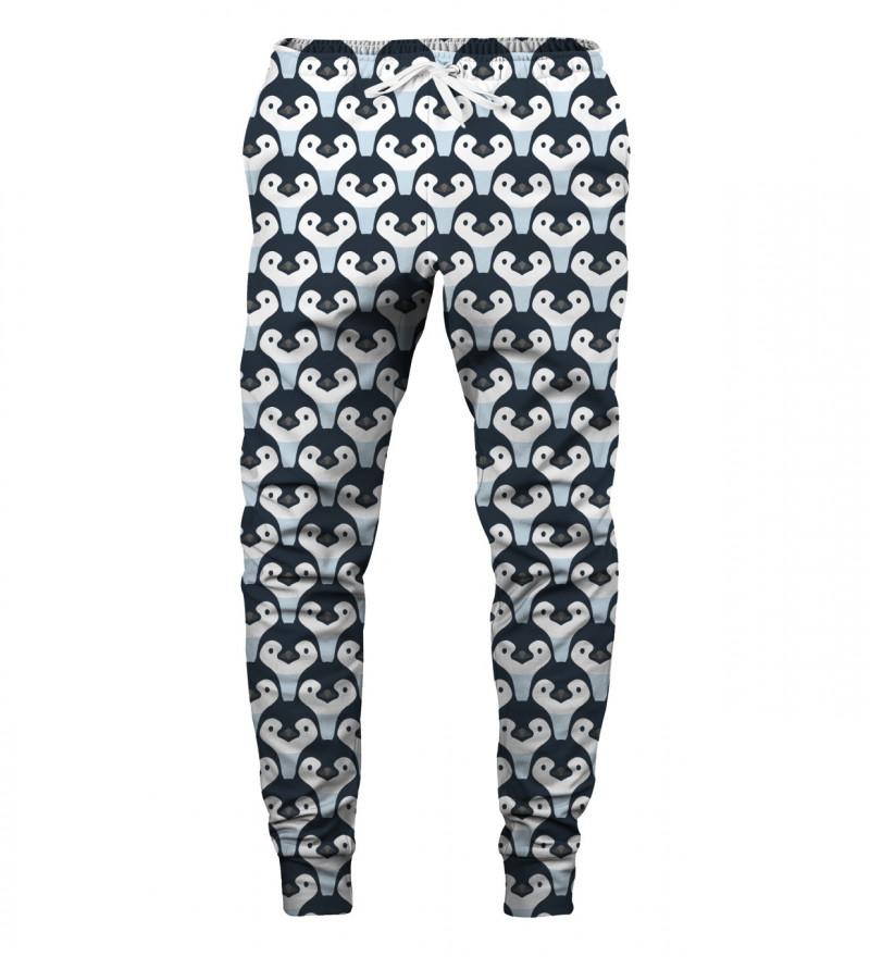 spodnie z motywem pingwinów