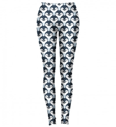 leggings with penguins motive