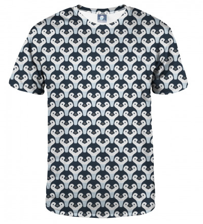 tshirt with penguins motive
