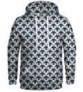 hoodie with penguins motive