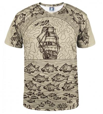 tshirt with sailing motive