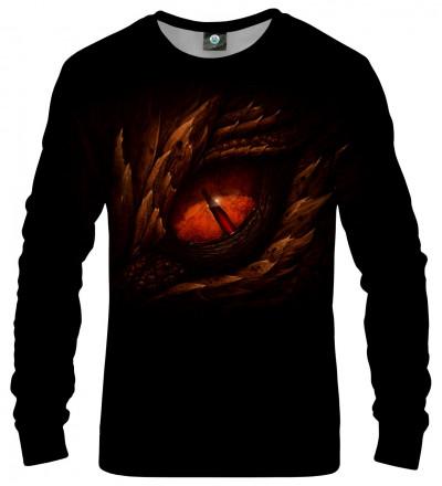sweatshirt with eye motive