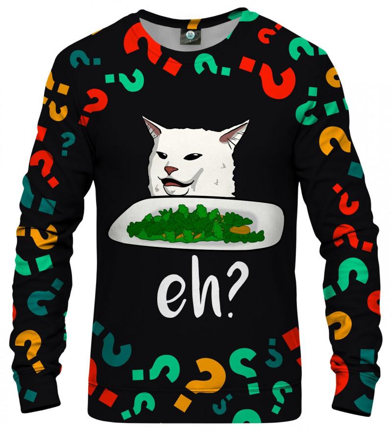 bluza z motywem kota