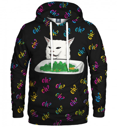 hoodie with cat motive