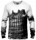 bluza z motywem wieży