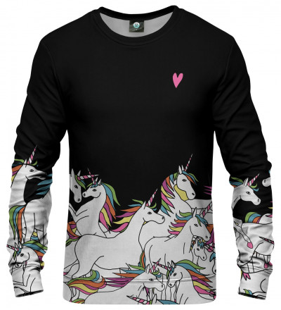 bluza z motywem jednorożca