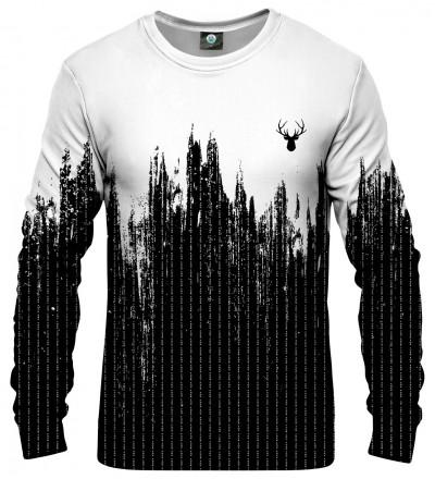 czarno-biała bluza
