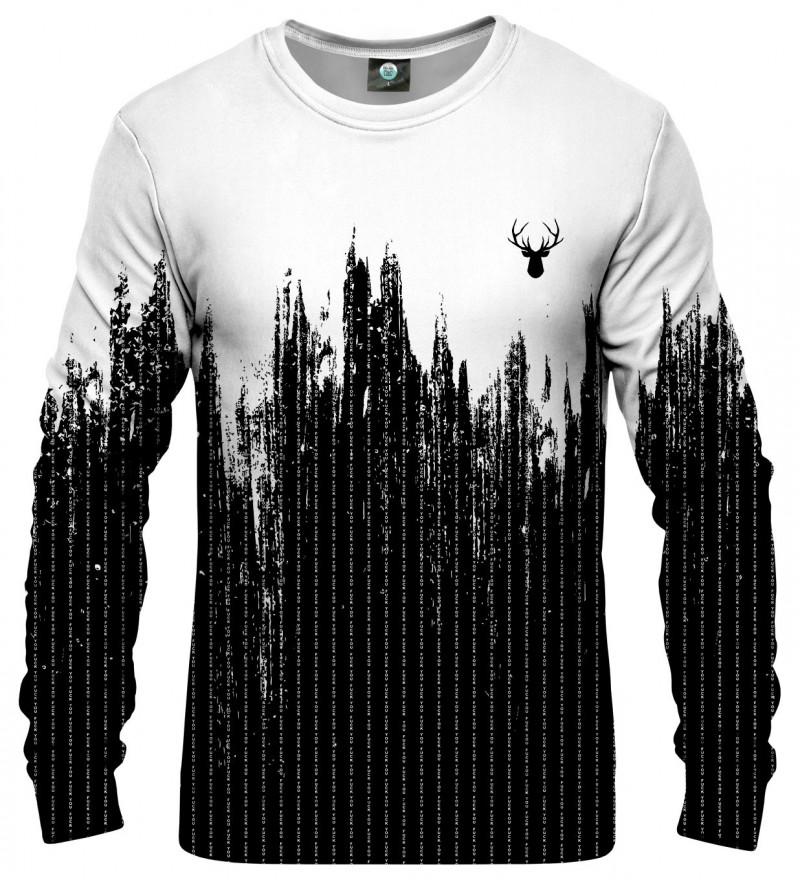 black and white sweatshirt