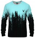 Fk you powder blue splash Sweatshirt