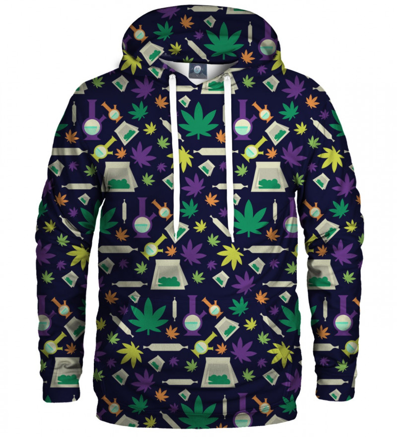 hoodie with fun stuff