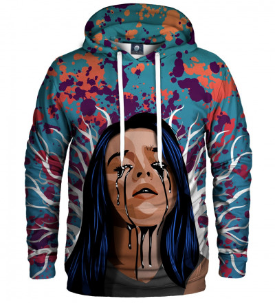 hoodie with billie eilish motive
