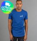 niebieska bawełniana koszulka
