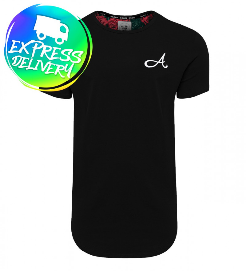 black cotton tshirt