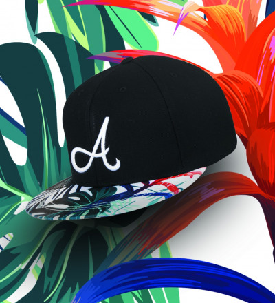snapback with jungle motive